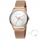 wholesale Brand Watches: Esprit watch ES1L034M0285 gift set bracelet