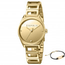 wholesale Brand Watches: Esprit watch ES1L058M0025 gift set bracelet
