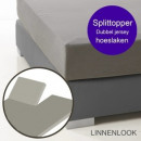 hl splittopper linnenlook, 160X220