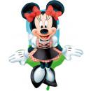 wholesale Costume Fashion: Foil balloon Minnie Dirndl