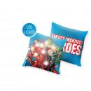 mayorista Ropa de cama y Mantas: Avengers - LED Cojínes 40x40 cm