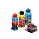 Großhandel Fahrräder & Zubehör: Disney Cars - Aluminium Trinkflasche, 500 ml