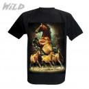 Men's T-Shirt Wild Mustangs