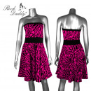 Großhandel Röcke:Rockabilly Zebra Kleid