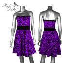 Rockabilly Zebra Kleid