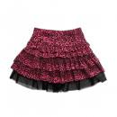 Großhandel Röcke: 16013-002 LD Leopard Rock - pink