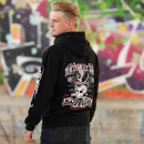 Großhandel Pullover & Sweatshirts: Billy Eight Kapuzenjacke Black Baron Logo