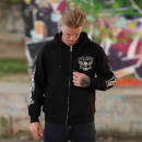 Großhandel Pullover & Sweatshirts: Billy Eight Kapuzenjacke Unisex Black Baron ...