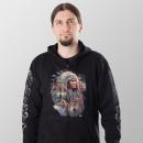 Großhandel Pullover & Sweatshirts: Wild Hoodie indianerhäuptling mit wolfsrudel