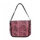Großhandel Handtaschen: Leopard Fell Messenger Tasche