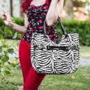 Großhandel Röcke: Rockabilly Leopard Handtasche