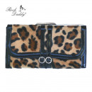 Großhandel Röcke: Rockabilly Leoparden Fell Geldbörse