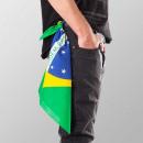 Großhandel Kopfbedeckung:Bandana Kopftuch Brazil