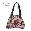 Großhandel Handtaschen: 22474-934 Handtasche - rosa