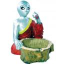 wholesale ashtray: 87062 Figurine alien ashtray