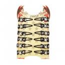 wholesale Drugstore & Beauty: Halloween spiders hair clip