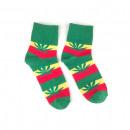 Großhandel Strümpfe & Socken: Marihuana Rasta Blatt Socken