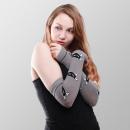 Großhandel Handschuhe:Graue Katzen Armwärmer
