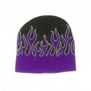 Großhandel Kopfbedeckung:Snowboard Flammen Beanie