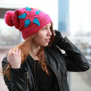 Großhandel Kopfbedeckung: Gehäkelte Snowboard Winter Beanie