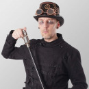 Walking stick Steampunk pistol