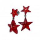 Acrylic earrings star