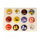 wholesale Toys: Funny sex Button Display mixed
