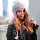 Großhandel Kopfbedeckung: Nepal Winter Strickmütze mit Bommel