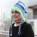 Großhandel Kopfbedeckung: Blauer Traum Gewebte Nepal Snowboard Mütze