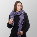 Großhandel Tücher & Schals: Boa Purple Deluxe Winterschal