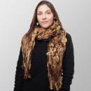Großhandel Tücher & Schals: Schoko Traum Struktur Winterschal