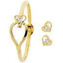 wholesale Gifts & Stationery: Pierre Cardin Jewelry Set PXX0207 Bracelet