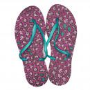 Großhandel Schuhe: Dupe Brazil Zehentrenner New Exotica 41 lila