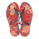 groothandel Schoenen: Dupe Brazil Teenscheider Floral Chic 39 rood