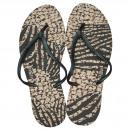 Großhandel Schuhe: Dupe Brazil Zehentrenner New Exotica 37 schwarz