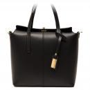 wholesale Handbags: Trussardi handbag D66TRC1008 Frinco Nero
