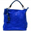 wholesale Handbags: Trussardi handbag D66TRC1013 Moasca Bluette