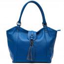 wholesale Handbags: Trussardi Handbag D66TRC1015 Mongardino Bluette