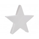 Deco star white, XL, approx. 20cm