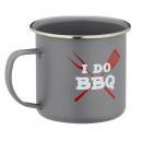 mayorista Barbacoas y accesorios: copa de metal barbacoa 300ml gris