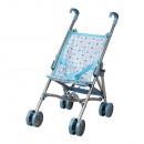 Chariot de poupée bleu (48 x 23 cm)