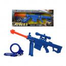 Pistolet Swat Bleu (43 x 16,5 cm)