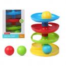nagyker Játékok: Oktatójáték Baby Ball Tower (21 x 16 cm)