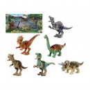 nagyker Játékok: Készlet 6 dinoszaurusz korszak műanyagból ...