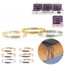 Großhandel Schmuck & Uhren: Frauenarmband x3, 2- fach sortiert