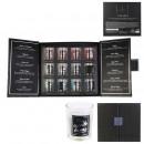 x12 glass candle box set