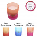 summer tie and dye candle, 3- times assorted