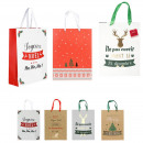 gift bag 21.5x8x28.5cm, 4- times assorted