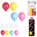 Großhandel Bälle & Schläger: Led Ballons x4, 2- fach sortiert
