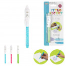 Invisible ink pen with led, 3-time asso